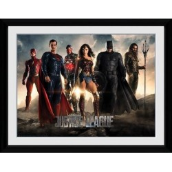 JUSTICE LEAGUE - Collector Print 30X40 - Characters 161826  Collector Print Canvas