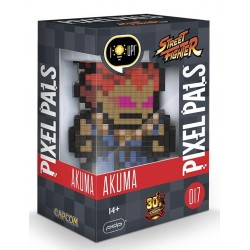 PIXEL PALS Light Up Collectible Figures - Street Fighter - Akuma 161696  Street Fighter