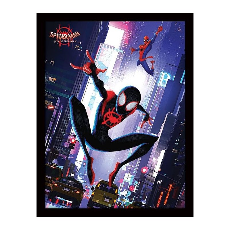 SPIDER-MAN INTO THE SPIDER-VERSE - Collector Print HQ 32X42 - Swing 170578  Posters