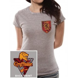 HARRY POTTER - T-Shirt House Gryffindor - GIRL (XL)
