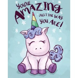 UNICORN - Mini Poster 40X50 - Amazing