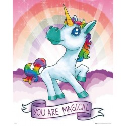 UNICORN - Mini Poster 40X50 - Magical