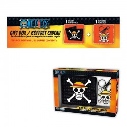 ONE PIECE - Gift Box (Wallet + Keyring) - Skull Luffy 161502  Sleutelhangers