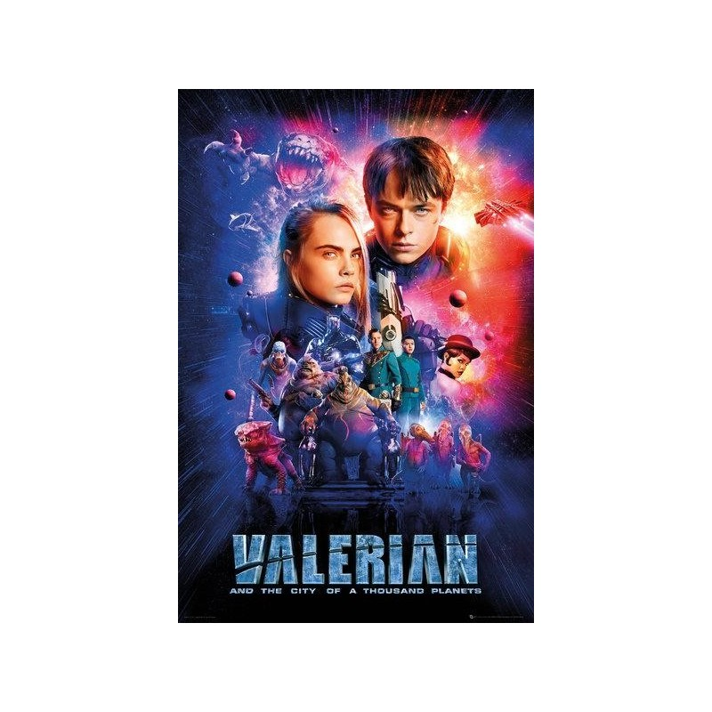 VALERIAN - Poster 61X91 - One Sheet Cast 161398 Posters