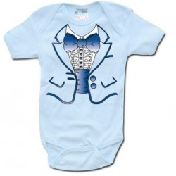 GEEK - Baby Body - Blue Suit Body (6 Month) 161369  Baby