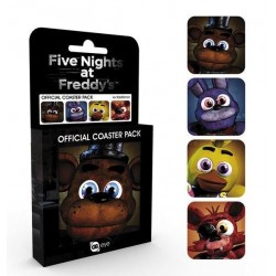 FIVE NIGHTS AT FREDDY'S - Official Coaster Pack - Characters 170545  Onderzetters