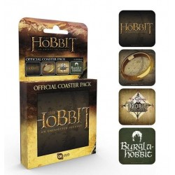 THE HOBBIT - Official Coaster Pack - Mix 170543  Onderzetters