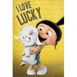 DESPICABLE ME 3 - Poster 61X91 - I Love Lucky 160939  Posters