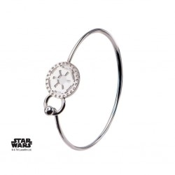 STAR WARS - Dames roestvrij staal Empire Symbol Bangle Armband