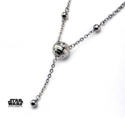 STAR WARS - Woman's Stainless Steel 3D Death Star Necklace 160909  Halskettingen