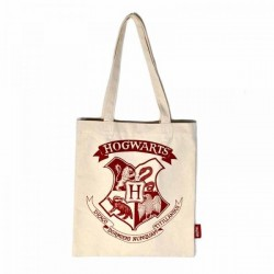 Harry Potter - Shopper tas met binnenzakje - Hogwarts Crest