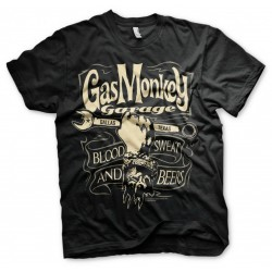GAS MONKEY - T-Shirt Wrench Label (XL) 160687  T-Shirts Gas Monkey
