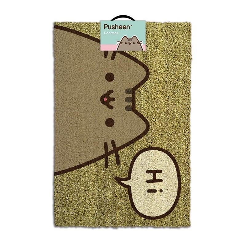 PUSHEEN - Doormat 40X60 - Pusheen says Hi 170505  Deurmatten