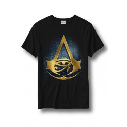ASSASSIN CREED ORIGINS - T-Shirt Pyramids Hieroglyph Black (XL) 160603  T-Shirts Assassin's Creed