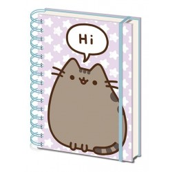 PUSHEEN - Notebook A5 - Pusheen says Hi