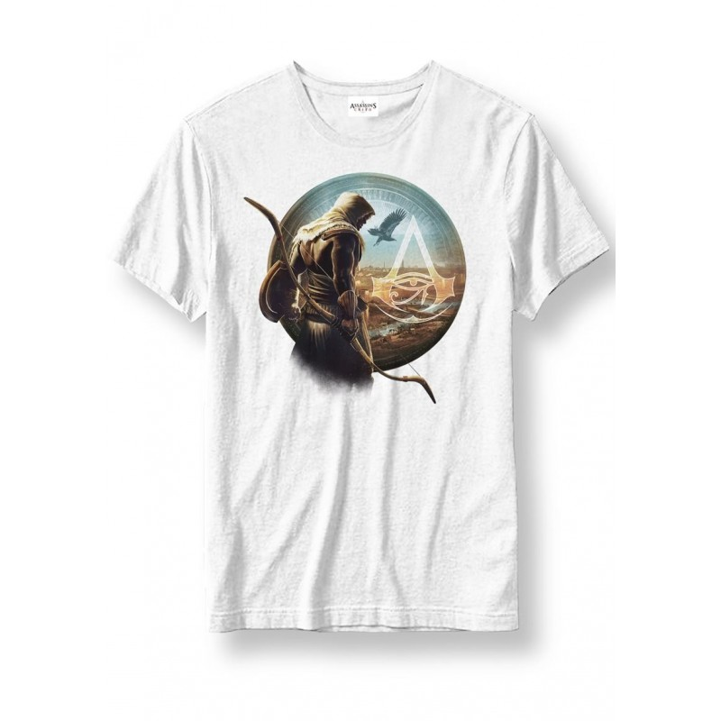 ASSASSIN CREED ORIGINS - T-Shirt Characters wit (XXL)