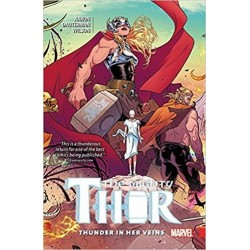 MIGHTY THOR Vol 01 THUNDER IN HER VEINS 160463  Comics - Strips