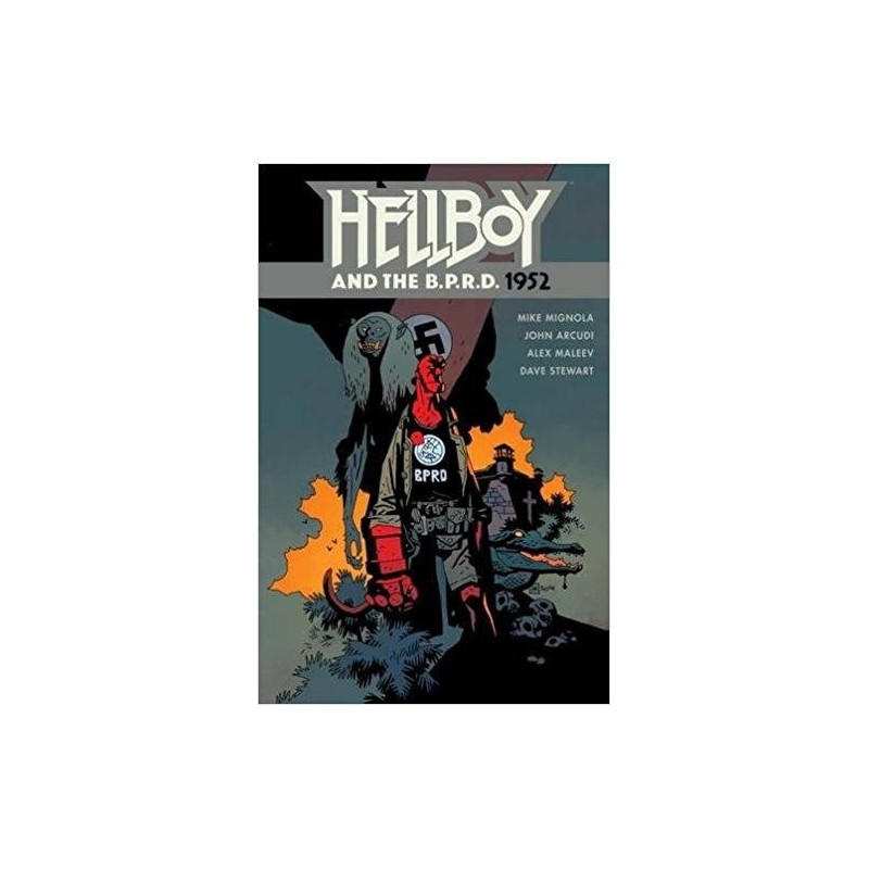 HELLBOY AND THE BPRD 1952 TP 160393 Comics - Strips