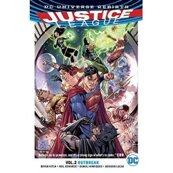 JUSTICE LEAGUE Vol 02 OUTBREAK 160270  Comics - Strips