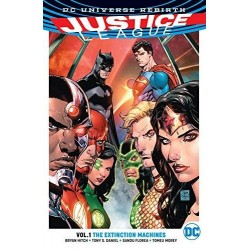 JUSTICE LEAGUE Vol 01 THE EXTINCTION MACHINE 160269  Comics - Strips