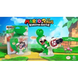 MARIO + RABBIDS KINGDOM - Figurine 3 inch Rabbit Yoshi (Ubisoft) 159948  Super Mario