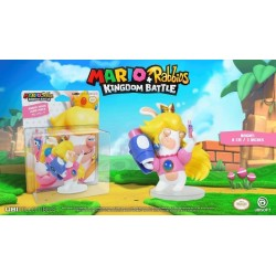 MARIO + RABBIDS KINGDOM - Figurine 3 inch Rabbit Peach (Ubisoft) 159947  Super Mario