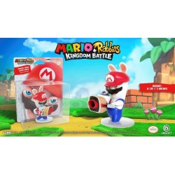 MARIO + RABBIDS KINGDOM - Figurine 3 inch Rabbit Mario (Ubisoft) 159946  Super Mario