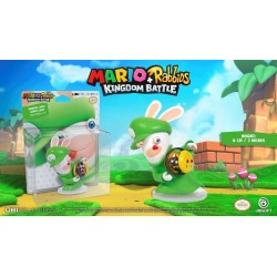 MARIO + RABBIDS KINGDOM - Figurine 3 inch Rabbit Luigi (Ubisoft) 159945  Figurines