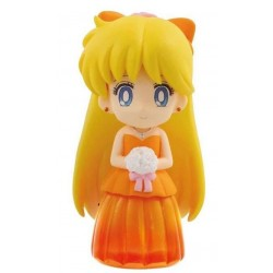 SAILOR MOON - Clear Colored Sparkle Dress Figure - Sailor Venus - 6cm 159944  Sailor Moon