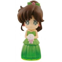 SAILOR MOON - Clear Colored Sparkle Dress Figure - Sailor Jupiter- 6cm 159943  Sailor Moon