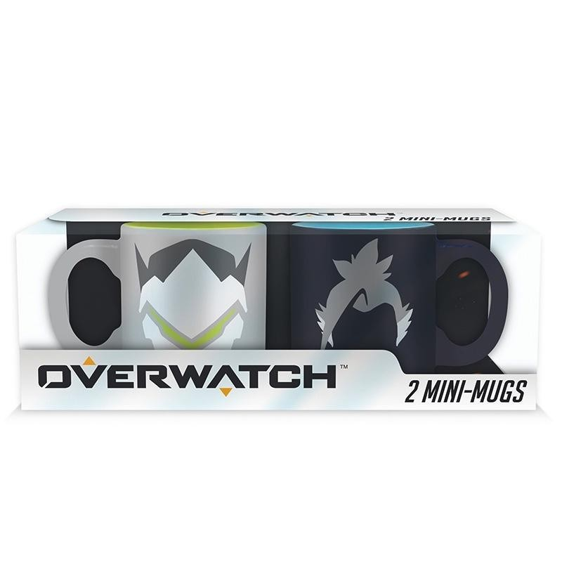 OVERWATCH - Set 2 Mini-Bekers - Hanzo / Genji