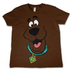 SCOOBY DOO - T-Shirt KIDS Face - Brown (10 Years) 159713  T-Shirts Kinderen
