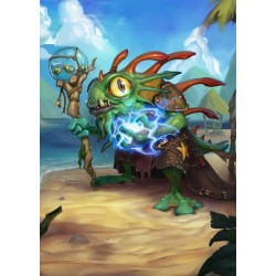 HEARTHSTONE - Magnetic Metal Poster 31x21 - Morgl the Oracle 170461  Magnetische Metalen Posters