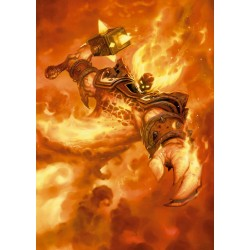 HEARTHSTONE - Magnetic Metal Poster 31x21 - Ragnaros the Firelord 170460  Magnetische Metalen Posters
