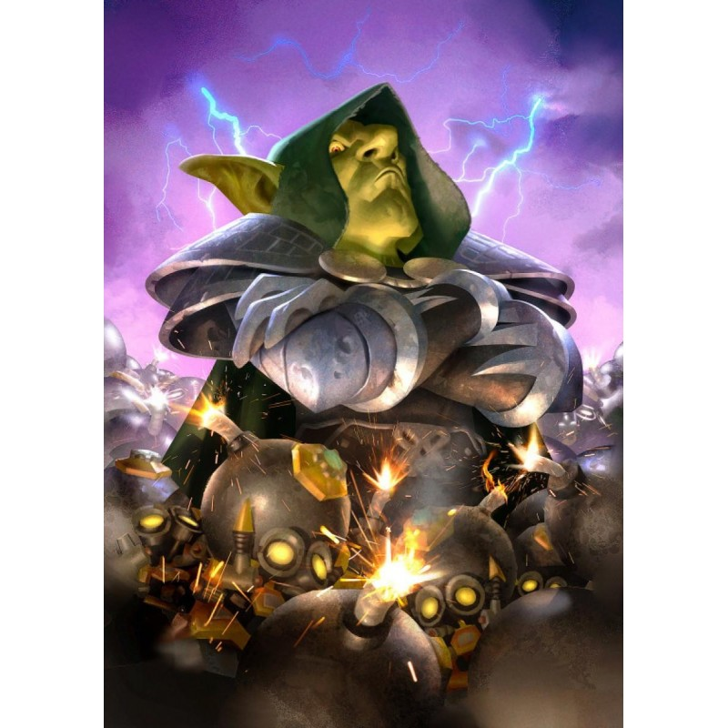 HEARTHSTONE - Magnetic Metal Poster 31x21 - Dr. Boom 170457  Magnetische Posters