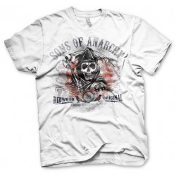 SONS OF ANARCHY - T-Shirt Distressed Flag (S) 159604  T-Shirts Sons Of Anarchy