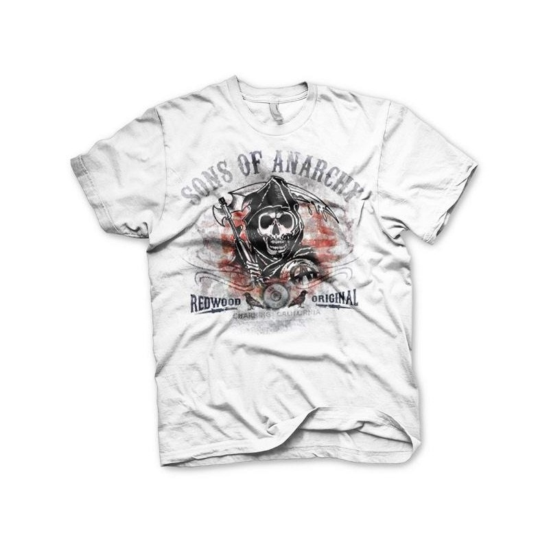 SONS OF ANARCHY - T-Shirt Distressed Flag (S) 159604 T-Shirts