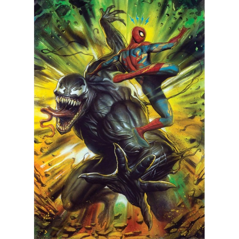 MARVEL VENOM - Magnetic Metal Poster 31x21 - Venom vs Spiderman 170452  Magnetische Posters