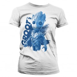 GUARDIANS OF THE GALAXY - T-Shirt I Am Groot - GIRL (XL) 159587  T-Shirts Guardians of the Galaxy