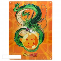 DRAGON BALL - Plaque Metal 28 X 38 - Shenron 159541  Metalen Wand Borden