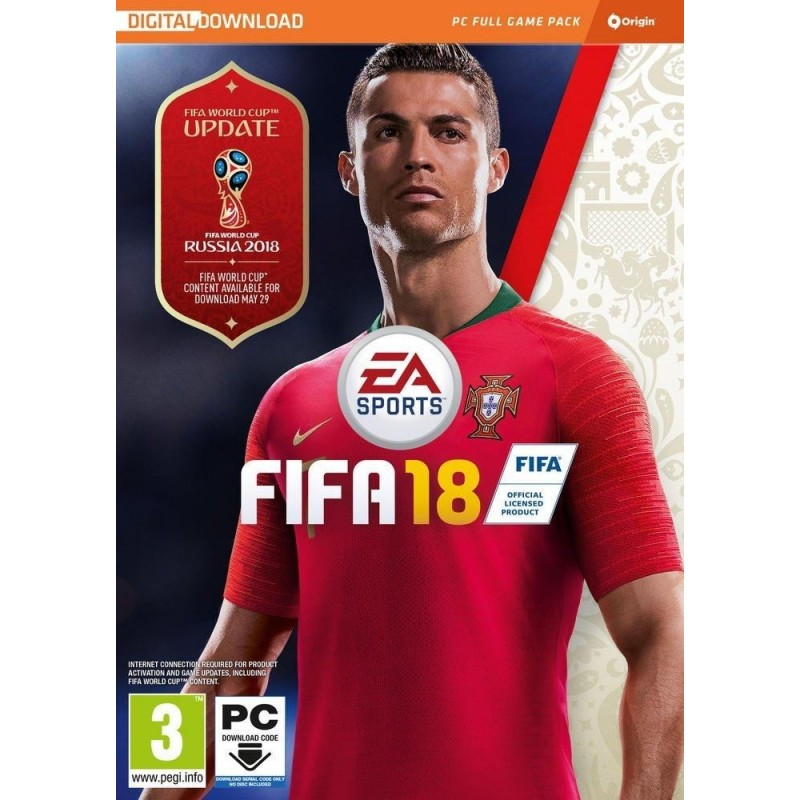 FIFA 18 (Code in a box) 159487 PC Games