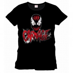 SPIDERMAN - T-Shirt Carnage Types and Face (XL) 159459  T-Shirts Spiderman