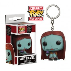 Pocket Pop Keychains : NBX Seated Sally - Nightmare Before Christmas