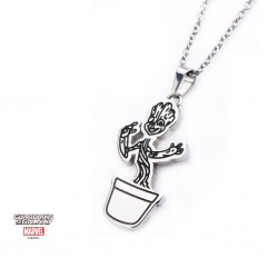 GUARDIANS OF THE GALAXY - Groot Pendant with Chain 159244  Halskettingen