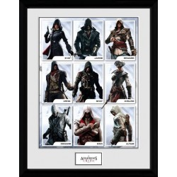 ASSASSIN'S CREED - Collector Print 30X40 - Compilation Characters 170424  Collector Print Canvas