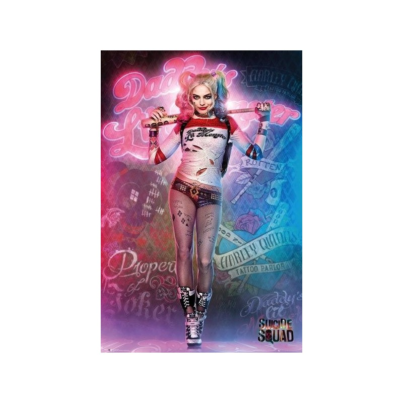 SUICIDE SQUAD - Poster 61X91 - Harley Quinn Stand 170421  Posters