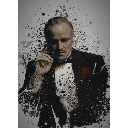 PC SPLATTER - Magnetic Metal Poster 45X32 - The Father 159091  Magnetische Metalen Posters