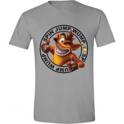 CRASH BANDICOOT - T-Shirt Jump Wump Crash Logo (L) 159075  Alles