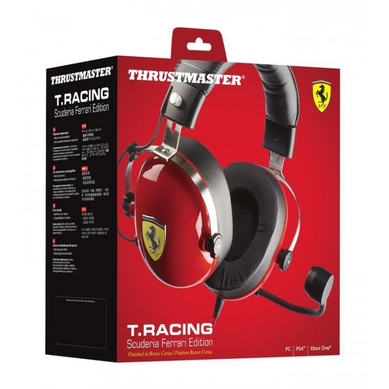 Gaming Headset T Racing Scuderia Ferrari Edition PS4/PS3/PC 170414  PS4 Headsets
