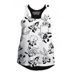 LOONEY TUNES - T-Shirt Top Tank All Over (XL) 159042  T-Shirts Looney Tunes